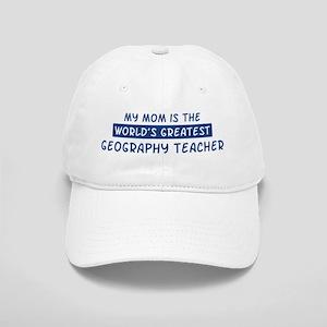 Geography Teacher Mom Cap