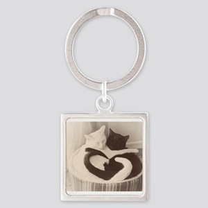 Love in Black and White (vintage) Keychains