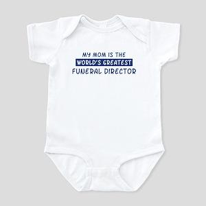Funeral Director Mom Infant Bodysuit