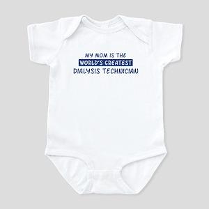 Dialysis Technician Mom Infant Bodysuit