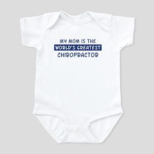Chiropractor Mom Infant Bodysuit
