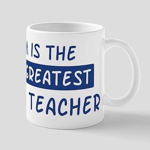 Business Teacher Mom Mug