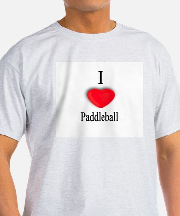 Paddleball Ash Grey T-Shirt