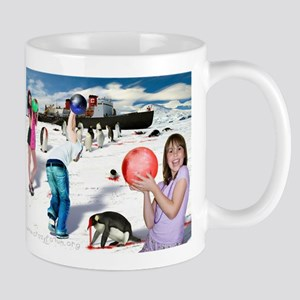 Bowling for Penguins Mug