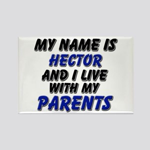 my name is hector and I live with my parents Recta