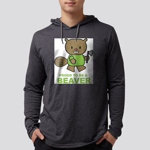 Proud To Be A Beaver Long Sleeve T-Shirt