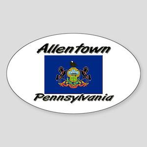 Allentown Pennsylvania Oval Sticker