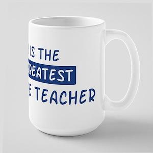 Agriculture Teacher Mom Large Mug
