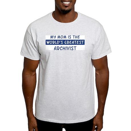 Archivist Mom Light T-Shirt
