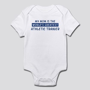 Athletic Trainer Mom Infant Bodysuit