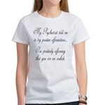 Positive Affirmations Women's T-Shirt