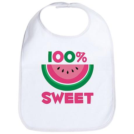 100% Sweet Watermelon Bib