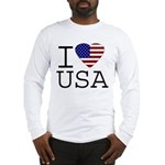 I Love USA Long Sleeve T-Shirt