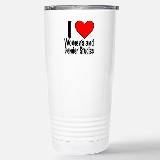 I heart Stainless Steel Travel Mug Women's and Gen