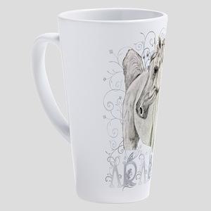 Arabian Art 17 oz Latte Mug