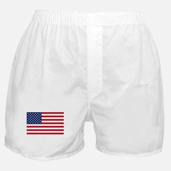 American Flag Boxer Shorts