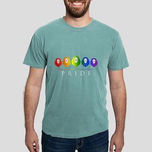 Gay Pride Lions LGBT Rainbow Women's Dark T-Shirt