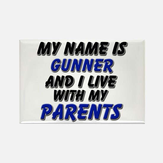 my name is gunner and I live with my parents Recta
