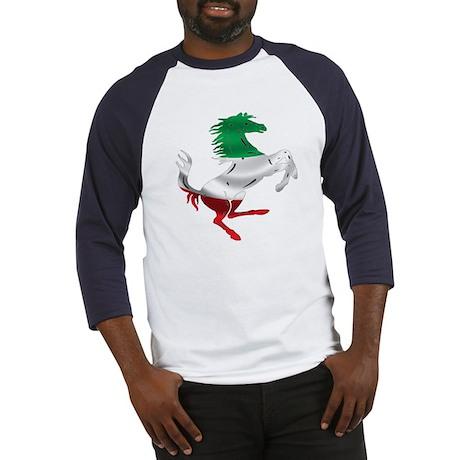 Italian Stallion Italy Flag Baseball Jersey