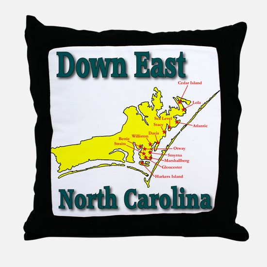 Down East Throw Pillow