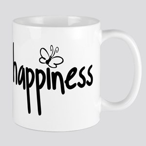 running on happiness Stainless Steel Travel Mugs