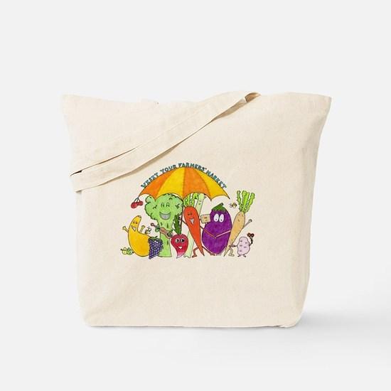 Farmers' Market Tote Bag