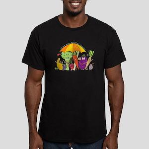 Farmers' Market Men's Fitted T-Shirt (dark)