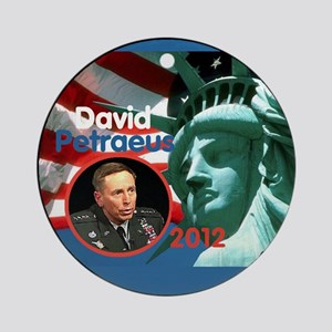 Petraeus Liberty Ornament (Round)