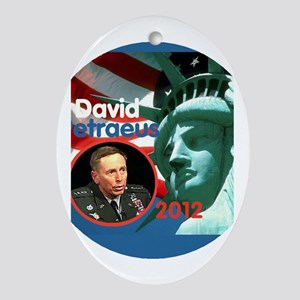 Petraeus Liberty Oval Ornament