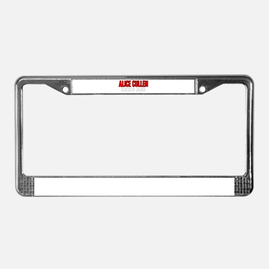 Alice Cullen Kicks Ass License Plate Frame