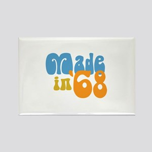 Made in 1968 (Retro) Rectangle Magnet