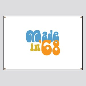 Made in 1968 (Retro) Banner