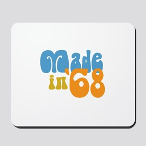 Made in 1968 (Retro) Mousepad