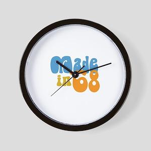 Made in 1968 (Retro) Wall Clock