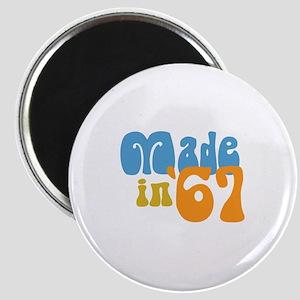 Made in 1967 (Retro) Magnet