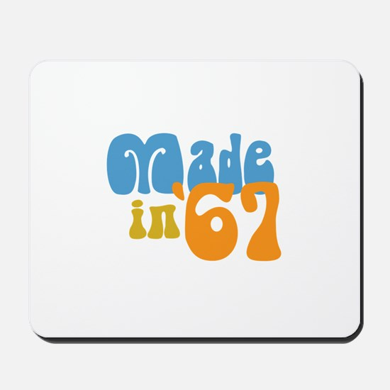 Made in 1967 (Retro) Mousepad