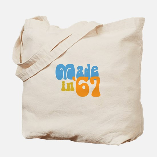 Made in 1967 (Retro) Tote Bag