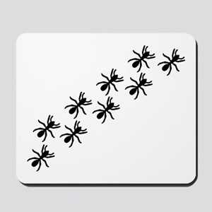 Black Ant Trail Mousepad