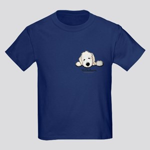 JACK English Goldendoodle Kids Dark T-Shirt