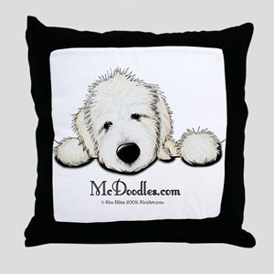 JACK English Goldendoodle Throw Pillow