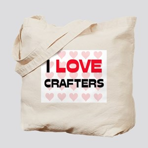 I LOVE CRAFTERS Tote Bag