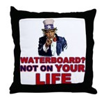 Waterboard? Throw Pillow