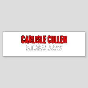 Carlisle Cullen Kicks Ass Bumper Sticker