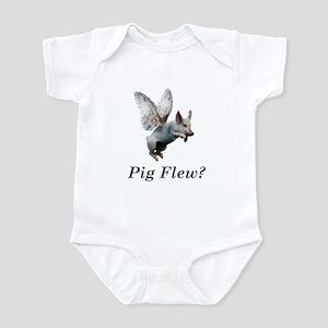 Pig Flew Infant Bodysuit