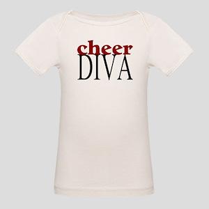 Cheer Diva Organic Baby T-Shirt
