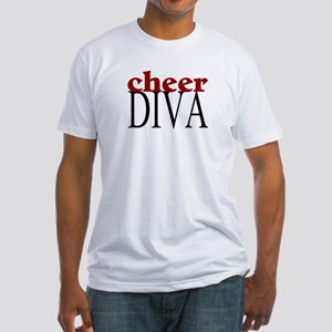 Cheer Diva Fitted T-Shirt