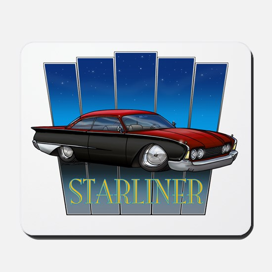 Red Starliner Mousepad