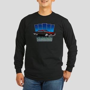 Red Starliner Long Sleeve Dark T-Shirt