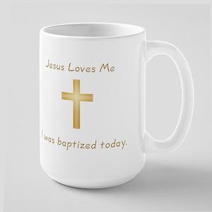 Baptism Gift Large Mug
