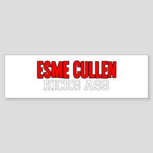 Esme Cullen Kicks Ass Bumper Sticker